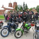 Motociklu brauciens Rogovkā, foto:Daila Ekimāne