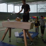 Sporta zālē