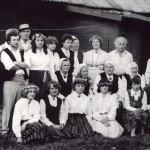 Filmas par Latgales folkloras kolektīviem uzņemšanas laikā 1987.gads
