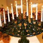 Jubilāra svečturis. Foto: A. Rancāne