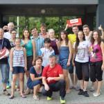 Kuldīgas pusmaratona dalībnieki no sporta kluba Magnen
