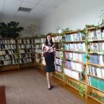 Maltas pagasta bibliotēkas vadītāja Ērika Grigorjeva (Anastasijas Belogubovas foto)