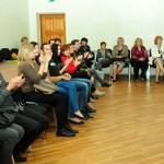 Videoklips ir izdevies - par to liecina arī klātesošo nerimstošie aplausi (foto: Madara Ļaksa)