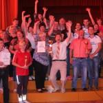 Priekšplānā - sacensību uzvarētāji, Jaunstrūžānu pamatskolas komanda