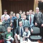 Patriotiskais novembris Sakstagala J. Klīdzēja pamatskolā