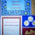 Audriņu pamatskolēnu dāvana Manai Latvijai