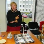 Ināra Miezīte no Ciblas novada piedāvāja pašdarinātas trifeles
