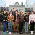 Pagājušā gada konkursa uzvarētāji- Maltas pagasta jaunieši Briselē