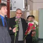 Jaunstrūžānu pamatskolas direktors I. Igaunis pateicas par atbalstu.