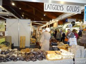 Latgales stends gadatirgū Riga food 2014.