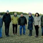 SIA Kopdarbs vadītājs Pēteris Karacejevs ar konkursa vērtēšanas komisiju