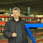 Uzņēmuma Tehniskās nodaļas vadītājs Jurijs Timofejevs