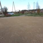 Labiekārtotā teritorija Kantinieku pagasta Liužas ciemā.