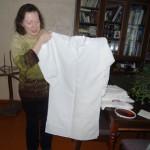Linu krekls dejotājiem