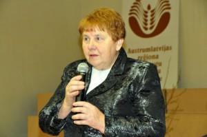 """SIA """"Latgales lauksaimniecības zinātnes centrs"""" vadītāja Veneranda Stramkale"""