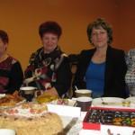 Konkursa dalībnieces (no kreisās): Bernarda Dudkeviča, Marija Reiņikova, Magdalina Kukule un Inna Levicka