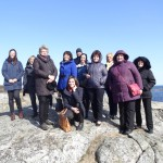 Rēzeknes novada pašvaldības delegācija 2014. gada pavasarī, vizītē Norvēģijā