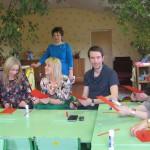 Jelgavas un Ozolnieku novadu izglītības iestāžu vadītāji Sakstagala Jāņa Klīdzēja pamatskolā