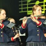 Spēlē Rēzeknes novada un Jāņa Ivanova mūzikas vidusskolas pūtēju orķestris
