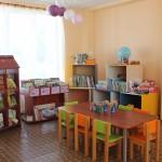 Kaunatas bibliotēkas bērnu stūrītis