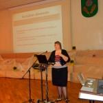 Rēzeknes novada sociālā dienesta vadītāja Silvija Strankale sniedza nelielu prezentāciju par savu novadu un sociālo dienestu.
