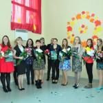 Rēzeknes novada jaunie pedagogi (pasākumā nepiedalījās visi deviņpadsmit).