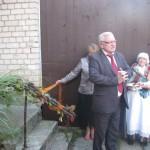 Vērēmu pagasta pārvaldes vadītāja Vladimira Bistrova uzruna pagasta senioriem