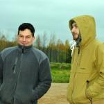 Vērtēšanas komisijas pārstāvji Jānis Kuzminskis un Guntis Rasims