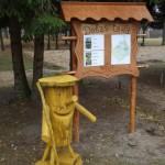 2015. gadā Tiskādu vidusskolā izveidotā dabas taka