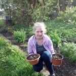 Viktorija Lukšāne audzē piparmētras un piedalās konkursā Veselīgais dārzs