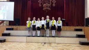 Gaigalavas pamatskolas 2.-4.klašu vokālais ansamblis (vadītāja Rasma Igaune)