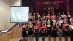 Maltas vidusskolas 5.-10.klašu koris (vadītāja Irēna Ivanova)