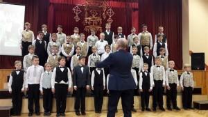 Rīgas Imantas vidusskolas zēnu koris Auseklītis (vadītājs Eduards Grāvītis)
