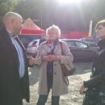 LEADER programmas projektu koordinators Štefans Maurers iepazīstina ar īstenotajiem projektiem
