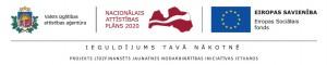 Logotipu ansamblis ar papildu teikumu