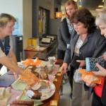 Mētru produktus var iegādāties tirdziņos Lobs Lobam Rēzeknes novada pašvaldībā. Foto: Madara Bērtiņa