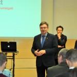 Uzņēmējus uzrunāja Rēzeknes novada domes priekšsēdētājs Monvīds Švarcs