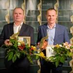 Gada uzņēmumu 2016 saimieki - SIA DAKO valdes loceklis Vitālijs Danovskis un ZS Ķirši īpašnieks Dmitrijs Pavlovs