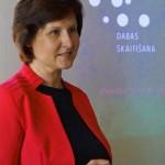 DAP Latgales reģionālās administrācijas direktora vietniece Aina Skredele stāsta par Latgales reģiona dabas vērtībām