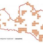 Dabas skaitisana - sauszemes kartesana 2017