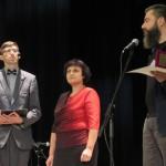 Viesturs Kairišs (pirmais no labās), Anita Ločmele, Juris Viļums.