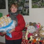 Rotaļlietas piedāvāja Irēna Osipova.
