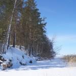 Raznas ezera krasts Folvarkova