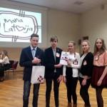 1. vieta - Vilanu vidusskolas I komanda