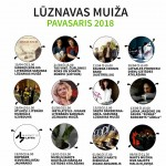 Luznavas muiza pasakumu afisa pavasaris 2018