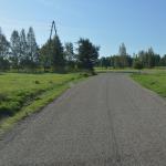 Autoceļa Nr.5611 Čapkova – Geikina stāvoklis pēc pārbūves 2019. gada augustā.