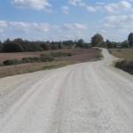 Audriņu pagasta ceļš pēc pārbūves