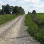 Lendžu pagasta ceļš pēc pārbūves