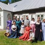 Lūznavas muižas Kadriļu deju grupa Lietuvā 2019. gada maijā